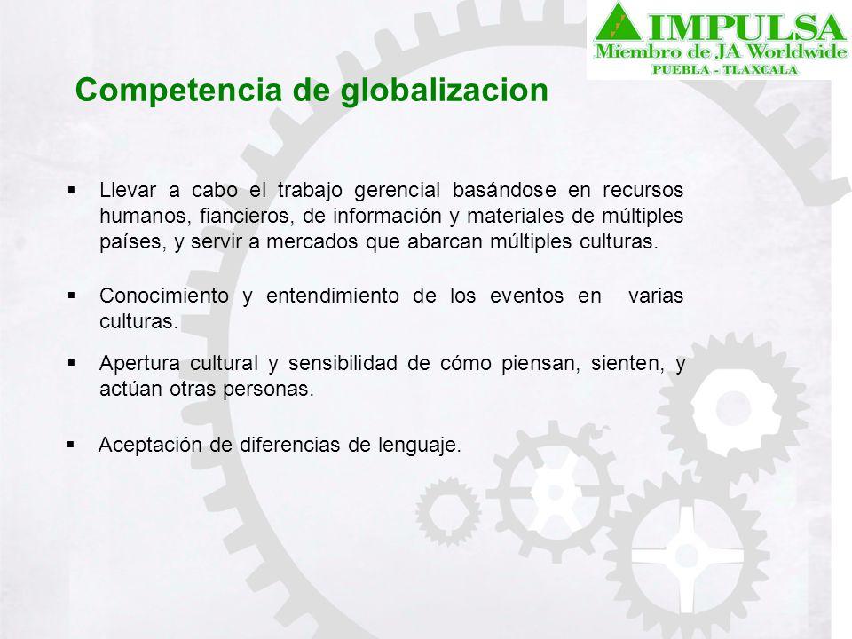 Competencia de globalizacion