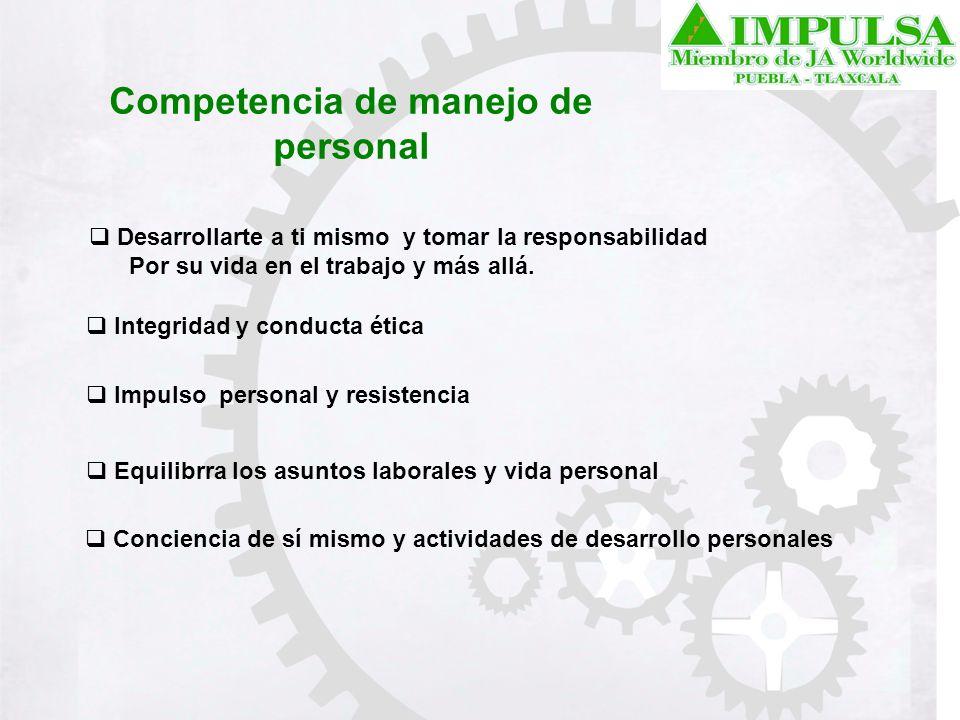 Competencia de manejo de personal