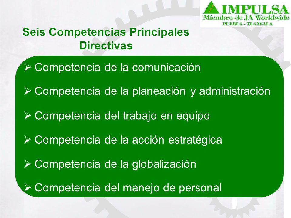 Seis Competencias Principales Directivas