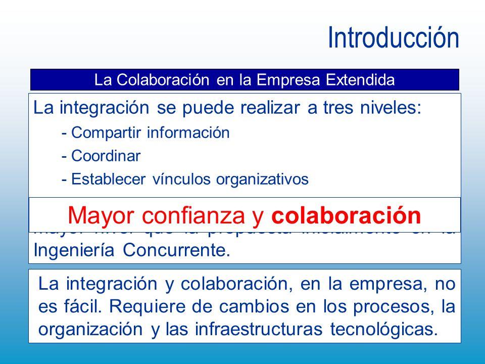 Introducción Mayor confianza y colaboración