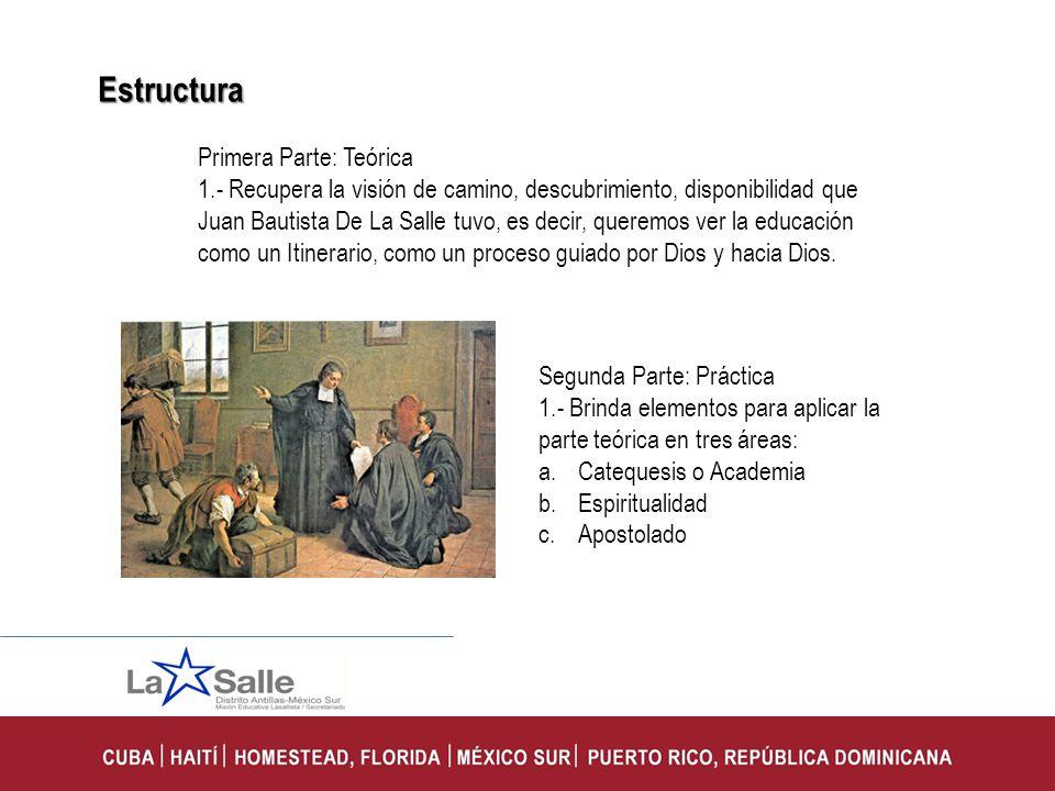 Estructura Primera Parte: Teórica