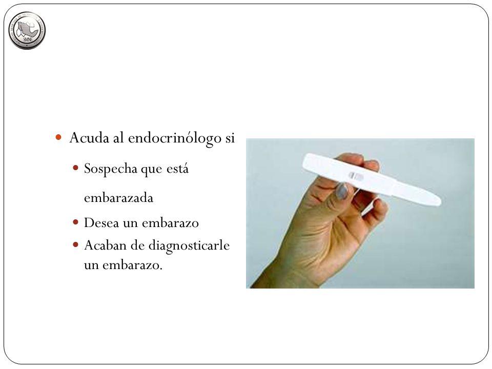 Acuda al endocrinólogo si