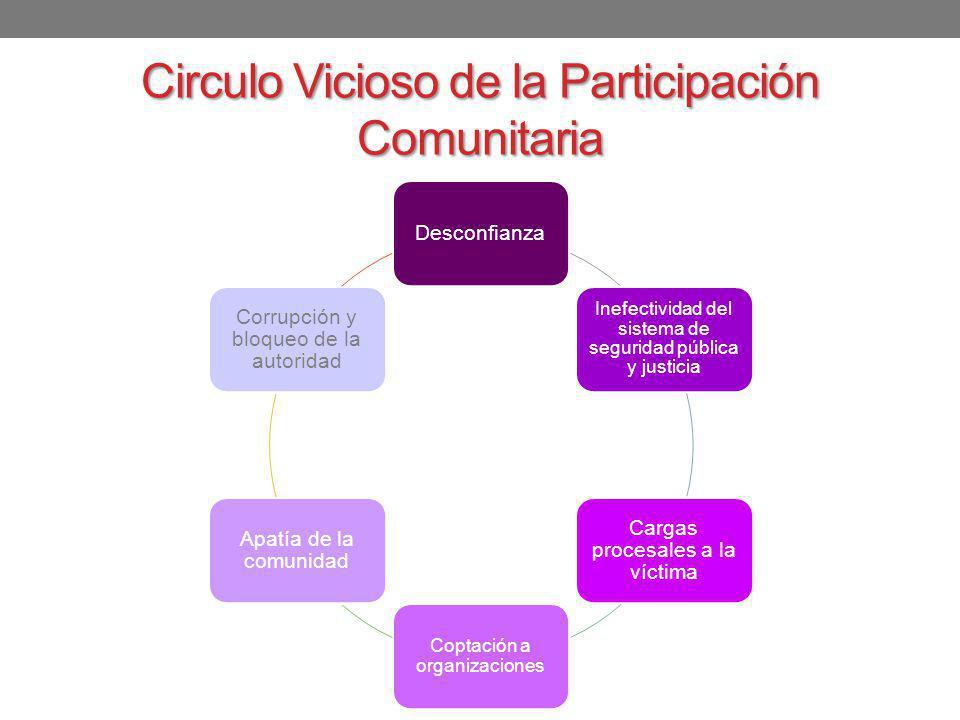 Circulo Vicioso de la Participación Comunitaria