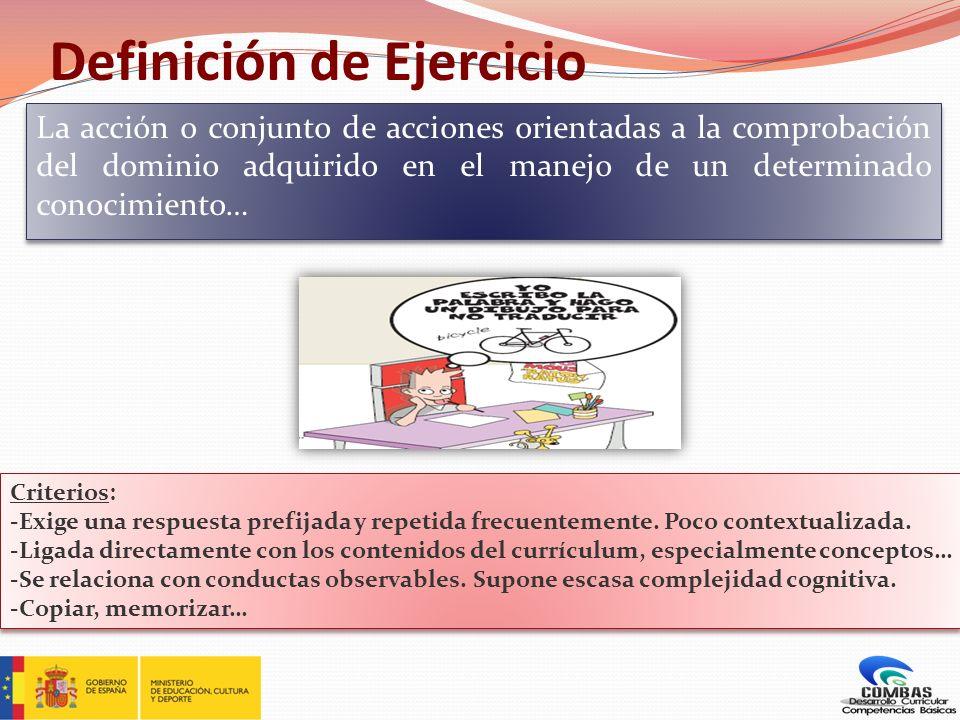Definición de Ejercicio