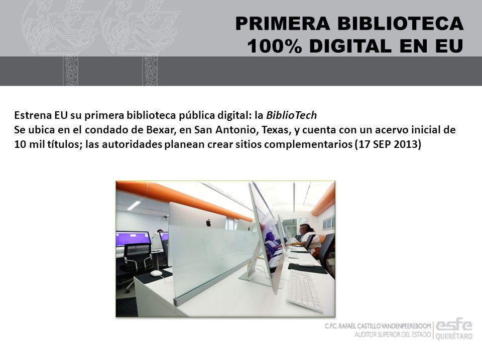 PRIMERA BIBLIOTECA 100% DIGITAL EN EU