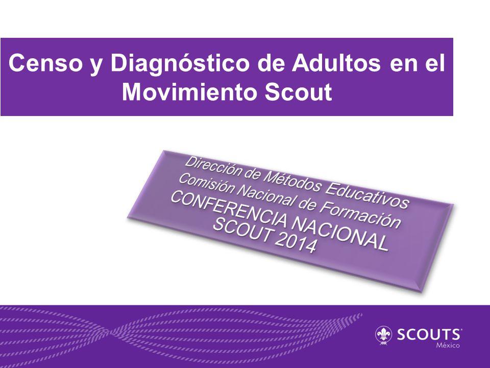 Censo y Diagnóstico de Adultos en el Movimiento Scout