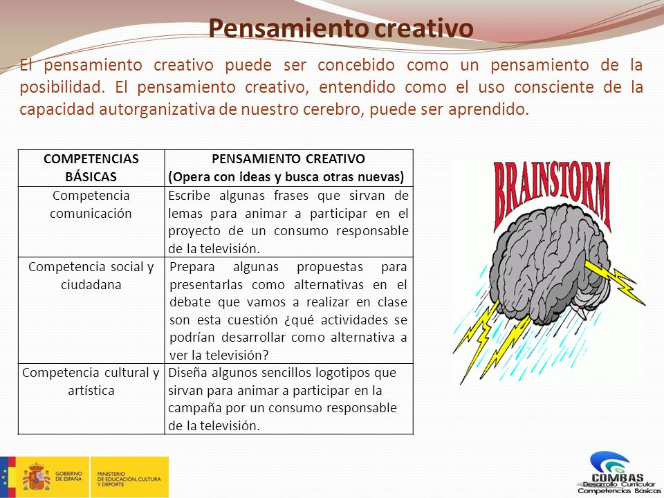 Pensamiento creativo