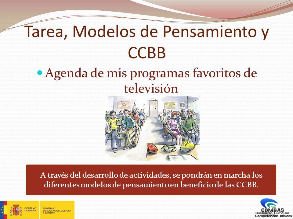 Tarea, Modelos de Pensamiento y CCBB