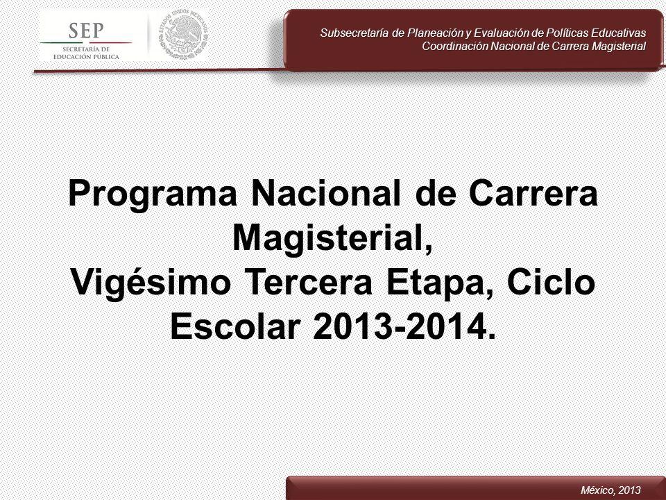 Subsecretaría de Planeación y Evaluación de Políticas Educativas