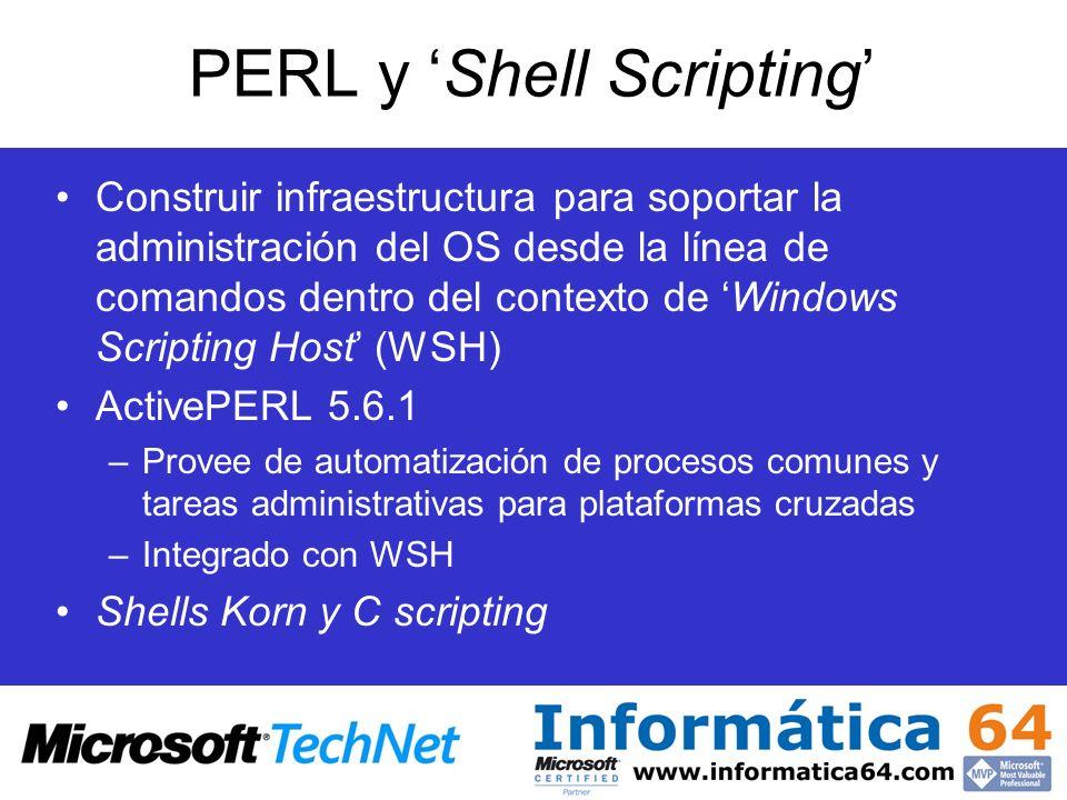 PERL y 'Shell Scripting'