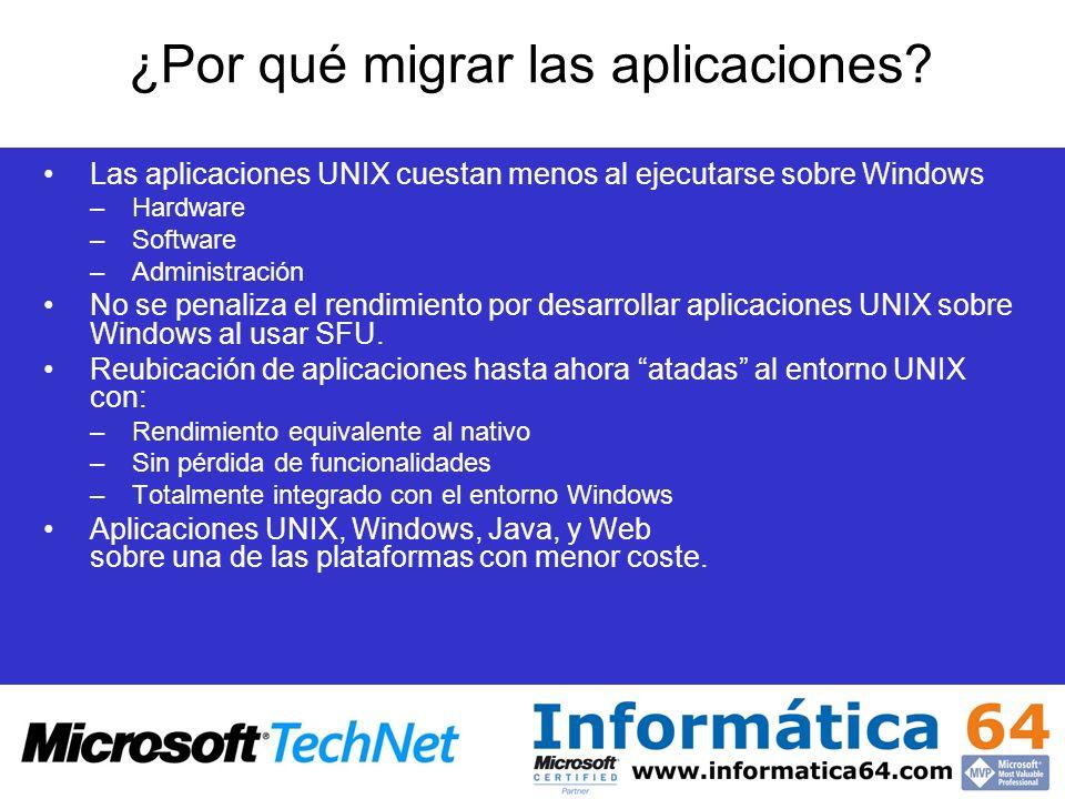 ¿Por qué migrar las aplicaciones