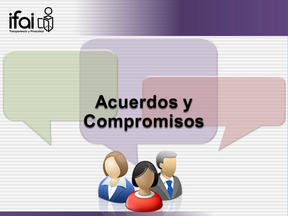 Acuerdos y Compromisos