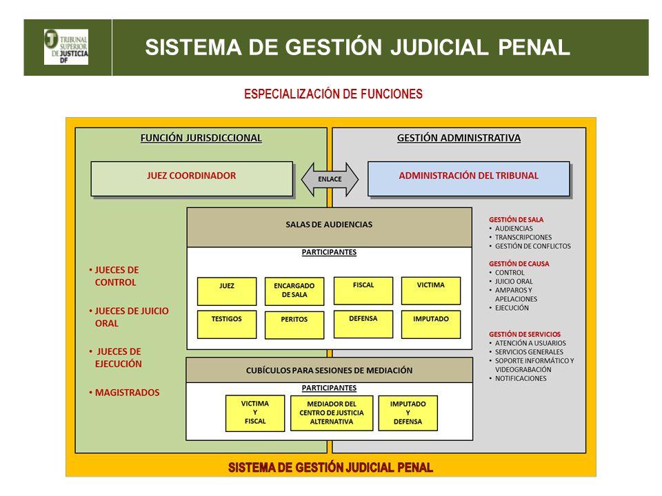ESPECIALIZACIÓN DE FUNCIONES