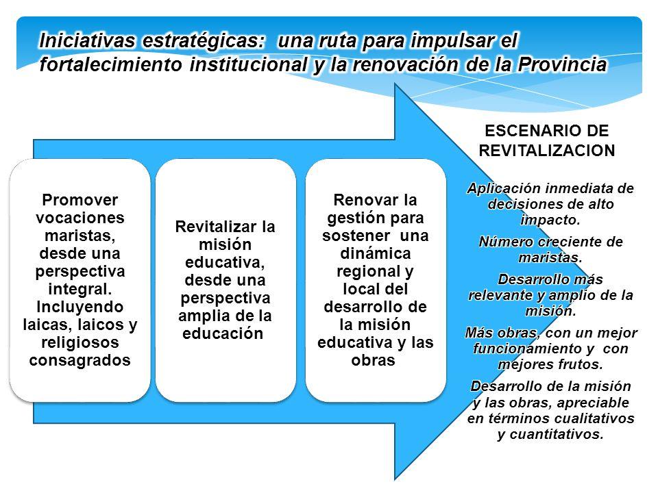 Iniciativas estratégicas: una ruta para impulsar el fortalecimiento institucional y la renovación de la Provincia