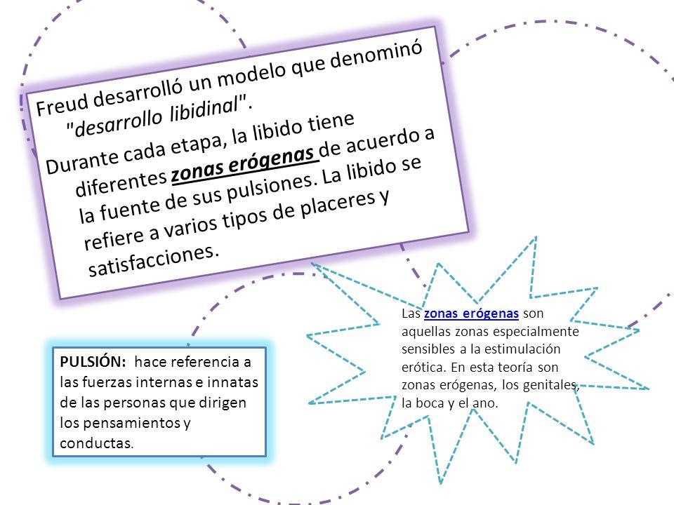 Freud desarrolló un modelo que denominó desarrollo libidinal