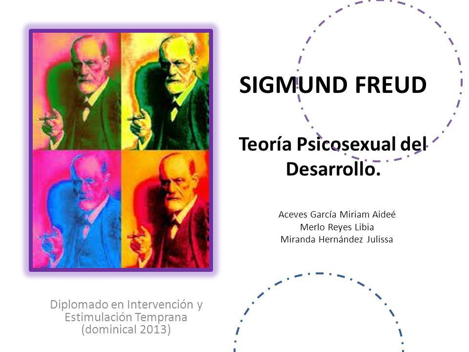SIGMUND FREUD Teoría Psicosexual del Desarrollo.