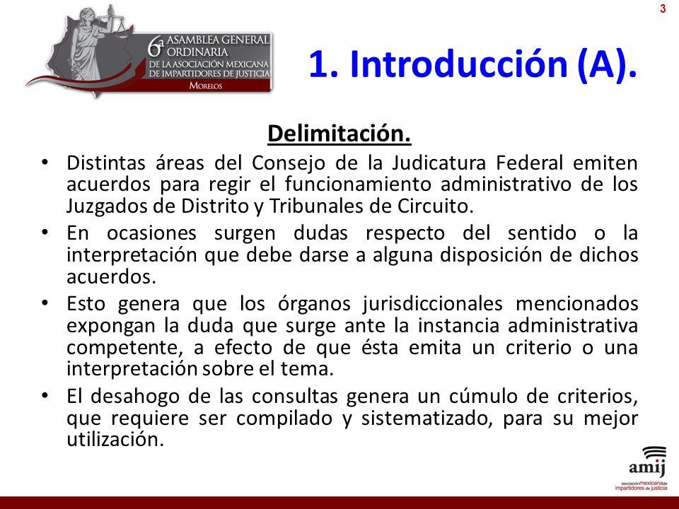 1. Introducción (A). Delimitación.