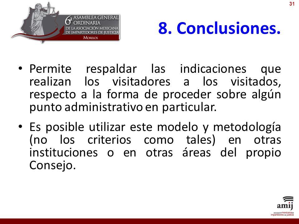 31 8. Conclusiones.