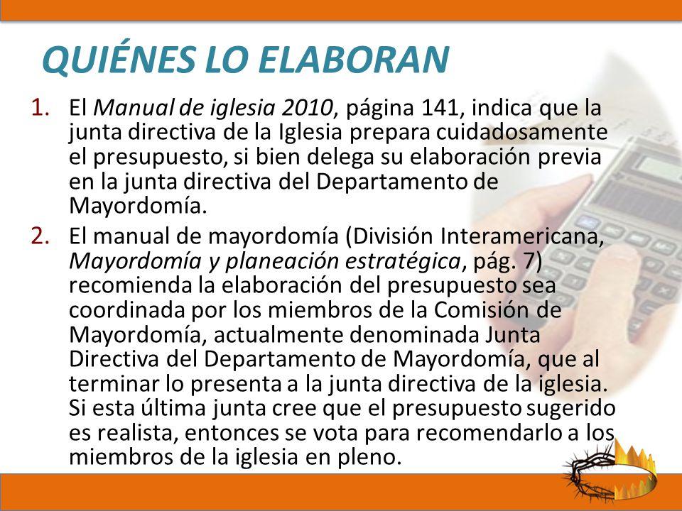 QUIÉNES LO ELABORAN
