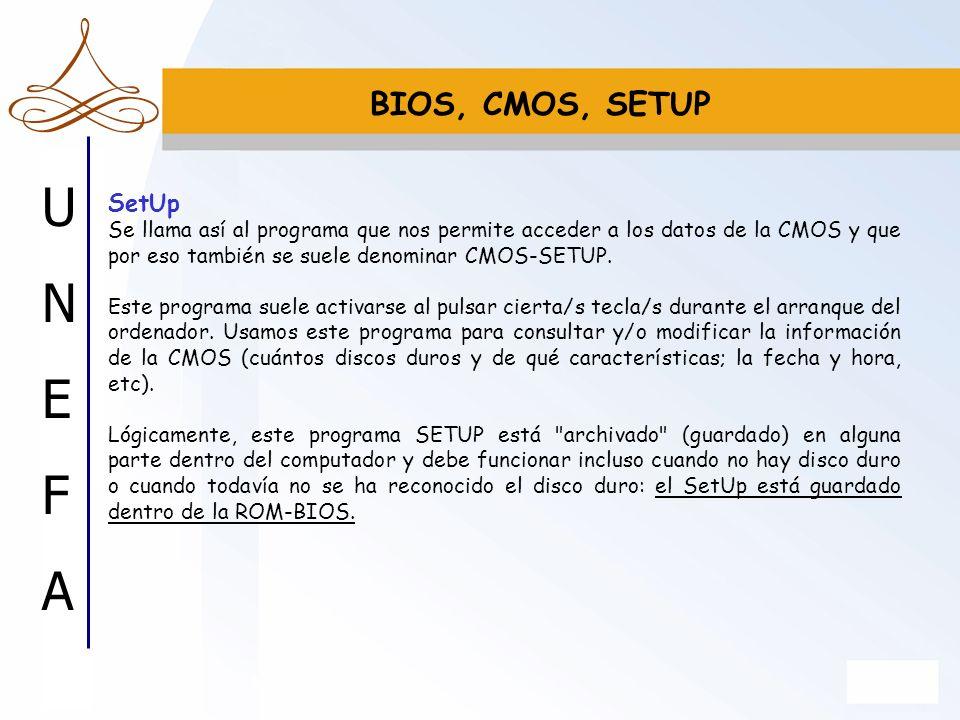 BIOS, CMOS, SETUP SetUp.