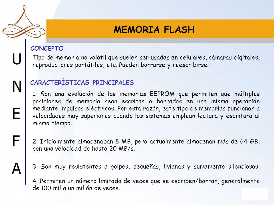 MEMORIA FLASH CONCEPTO