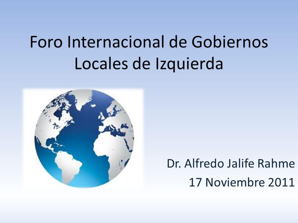 Foro Internacional de Gobiernos Locales de Izquierda