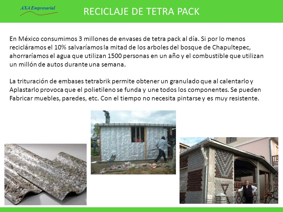 RECICLAJE DE TETRA PACK