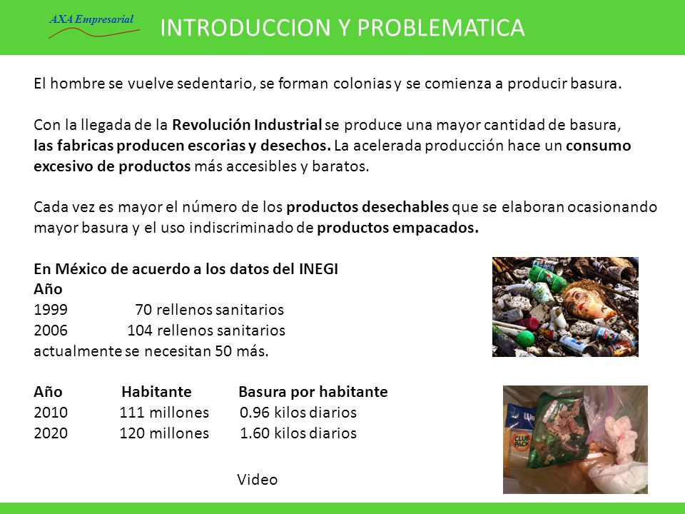INTRODUCCION Y PROBLEMATICA