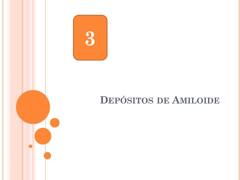 3 Depósitos de Amiloide