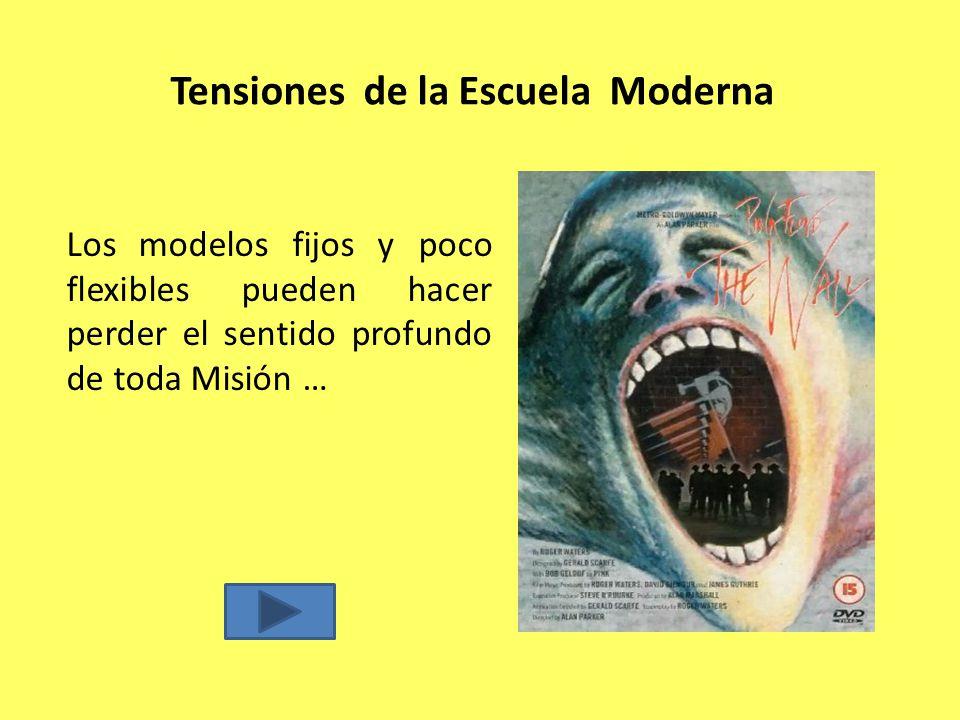 Tensiones de la Escuela Moderna