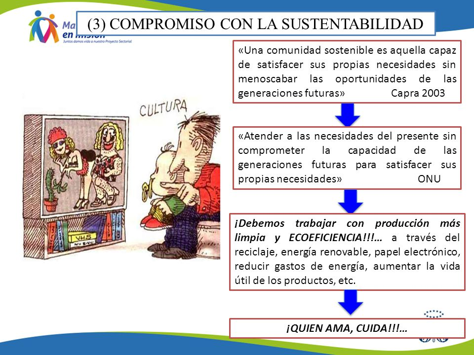 (3) COMPROMISO CON LA SUSTENTABILIDAD