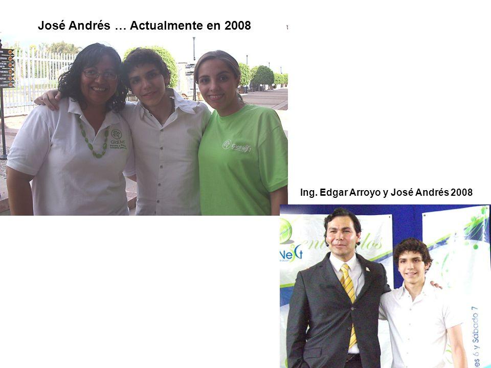 José Andrés … Actualmente en 2008
