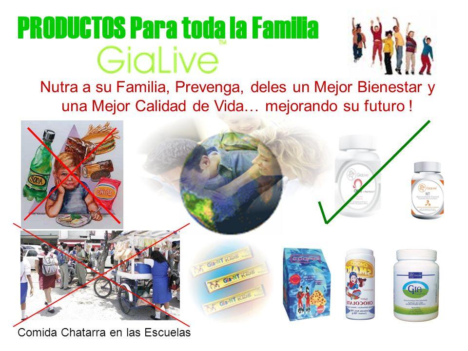 PRODUCTOS Para toda la Familia