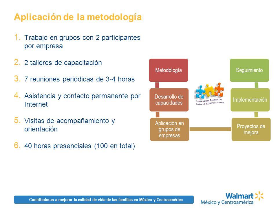 Aplicación de la metodología