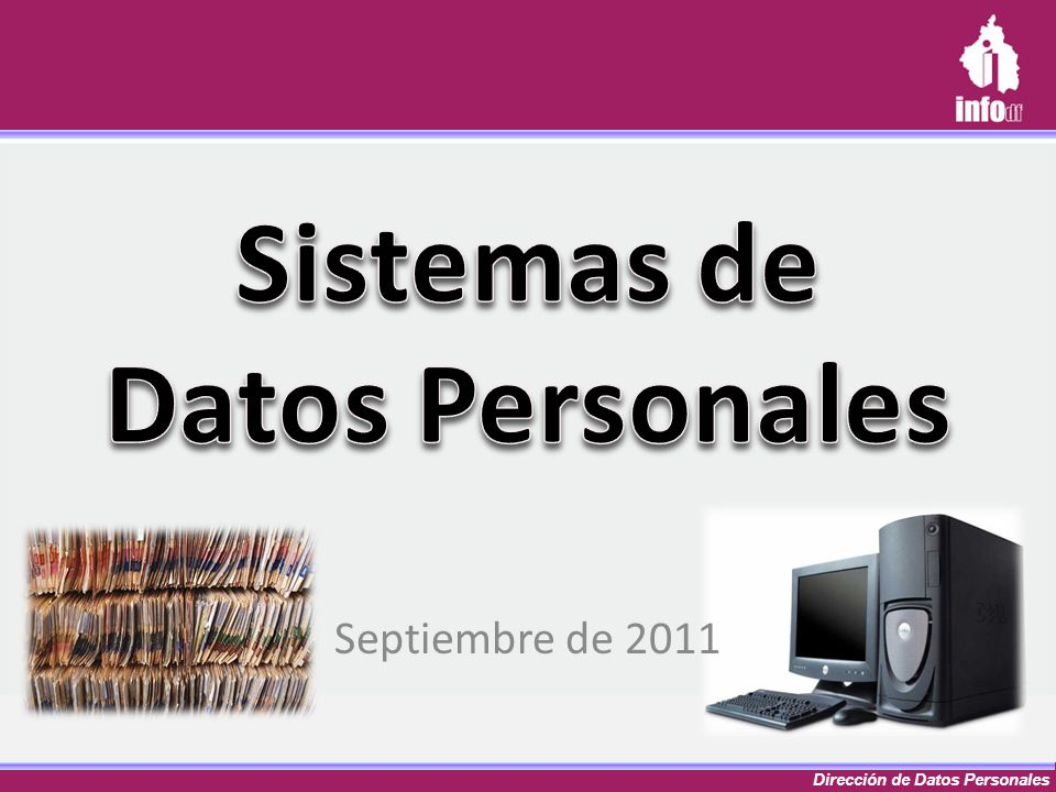 Sistemas de Datos Personales