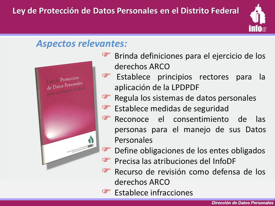 Ley de Protección de Datos Personales en el Distrito Federal