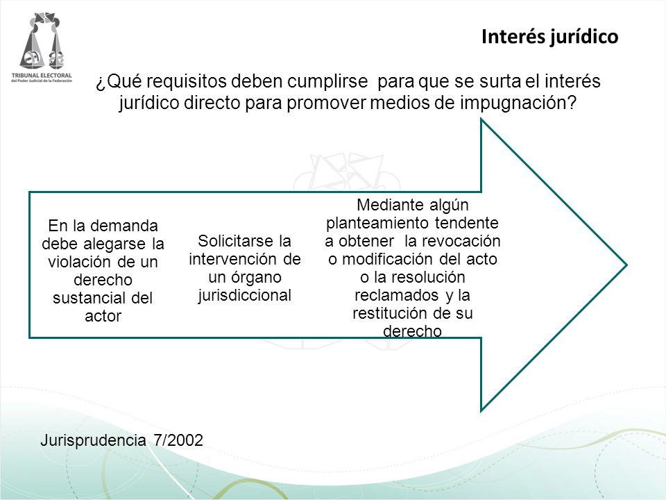Solicitarse la intervención de un órgano jurisdiccional