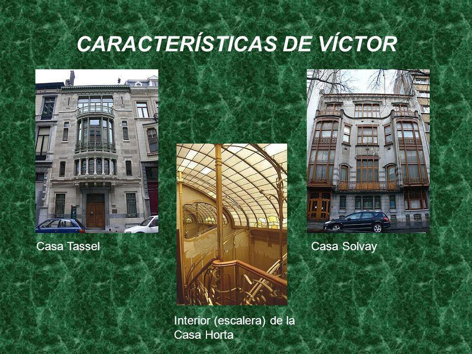 CARACTERÍSTICAS DE VÍCTOR