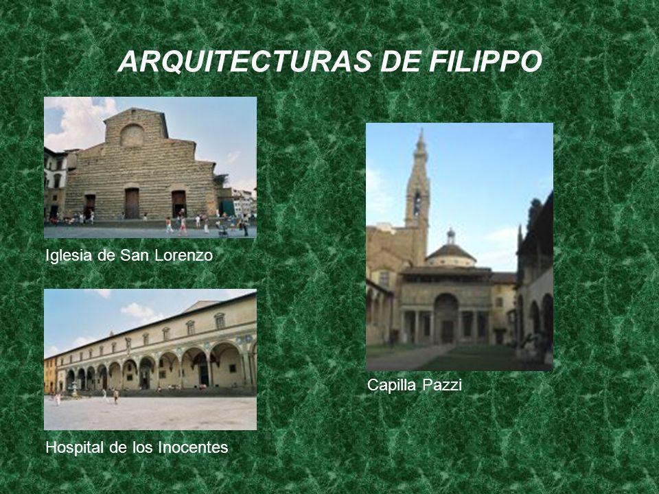 ARQUITECTURAS DE FILIPPO