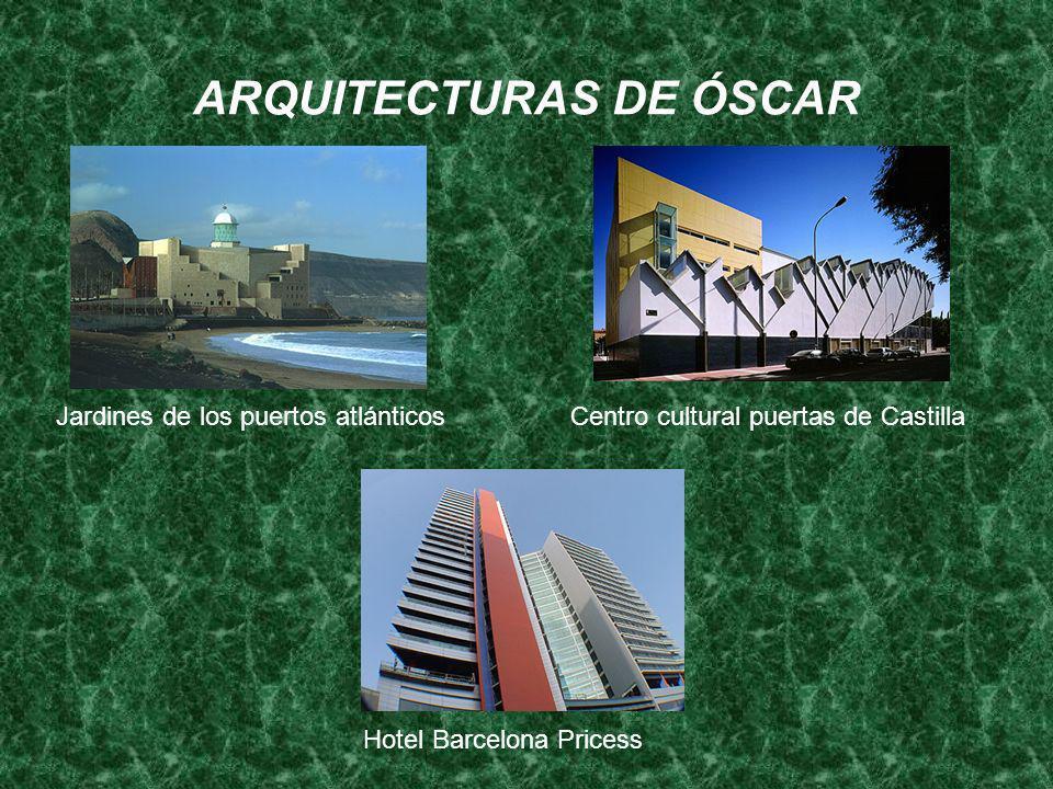 ARQUITECTURAS DE ÓSCAR