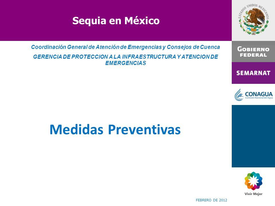 Medidas Preventivas Sequia en México