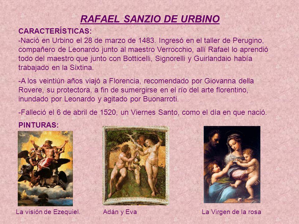 RAFAEL SANZIO DE URBINO