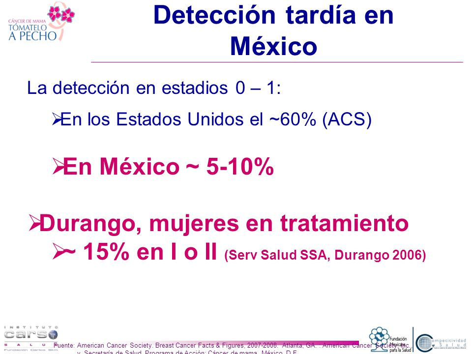 Detección tardía en México