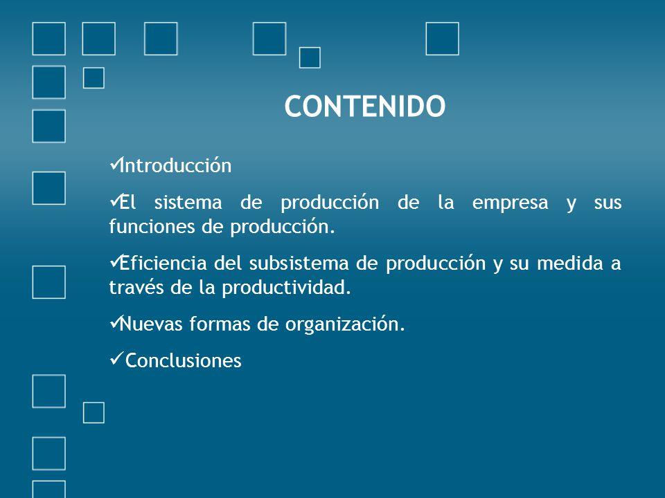 CONTENIDO Introducción