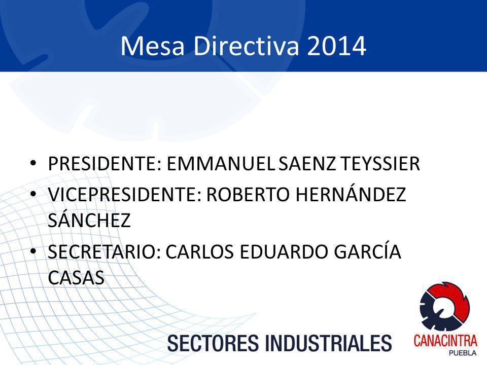 Mesa Directiva 2014 PRESIDENTE: EMMANUEL SAENZ TEYSSIER