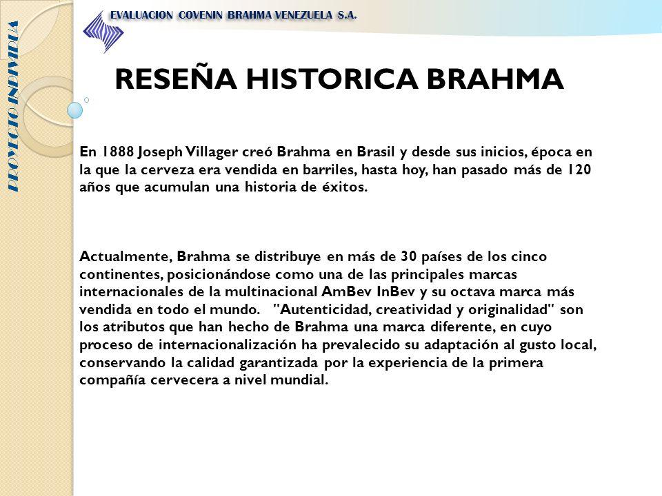 RESEÑA HISTORICA BRAHMA