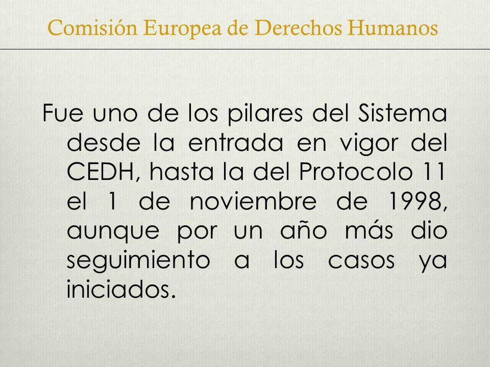 Comisión Europea de Derechos Humanos