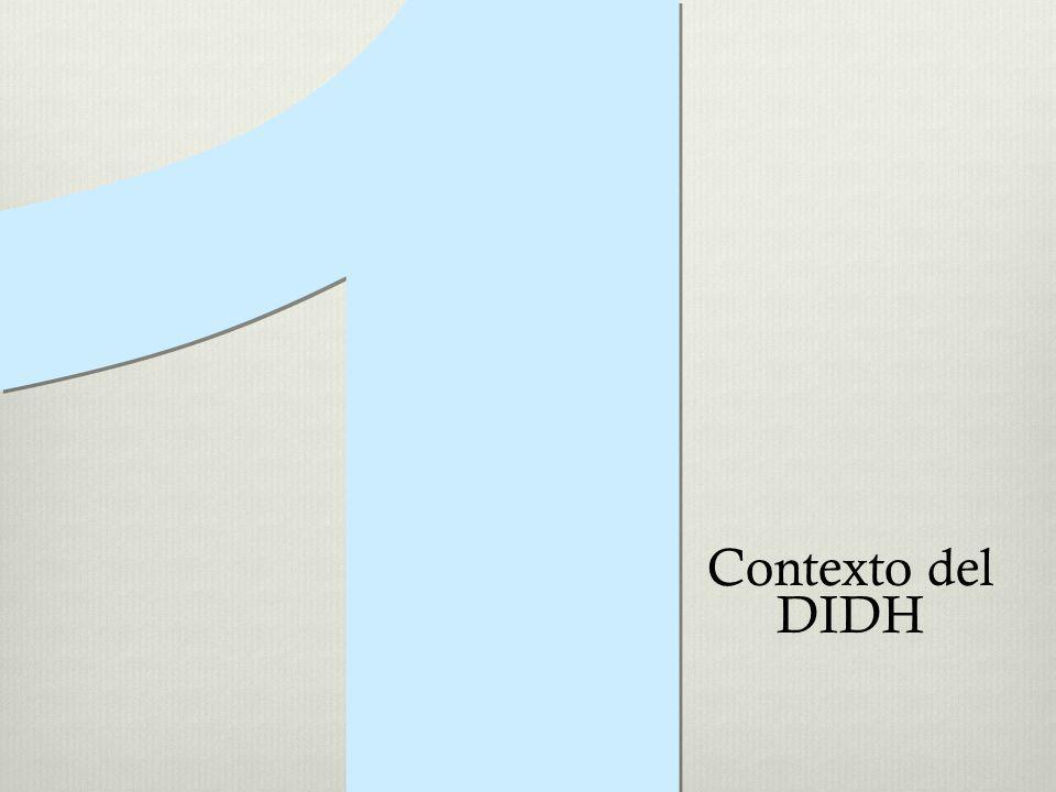 1 Contexto del DIDH
