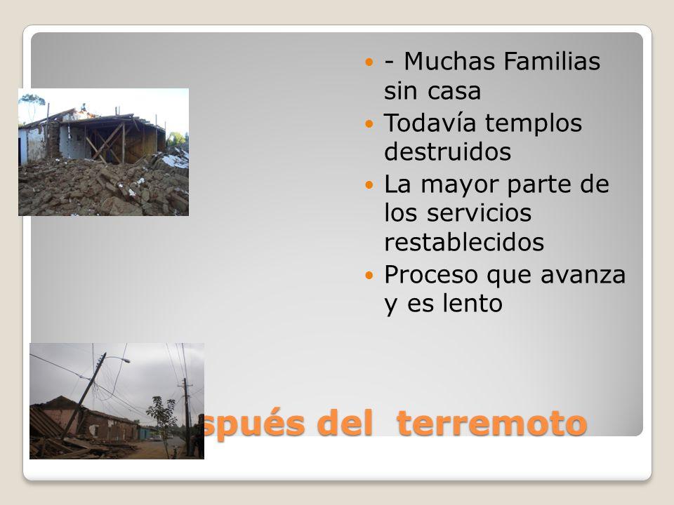Chile después del terremoto