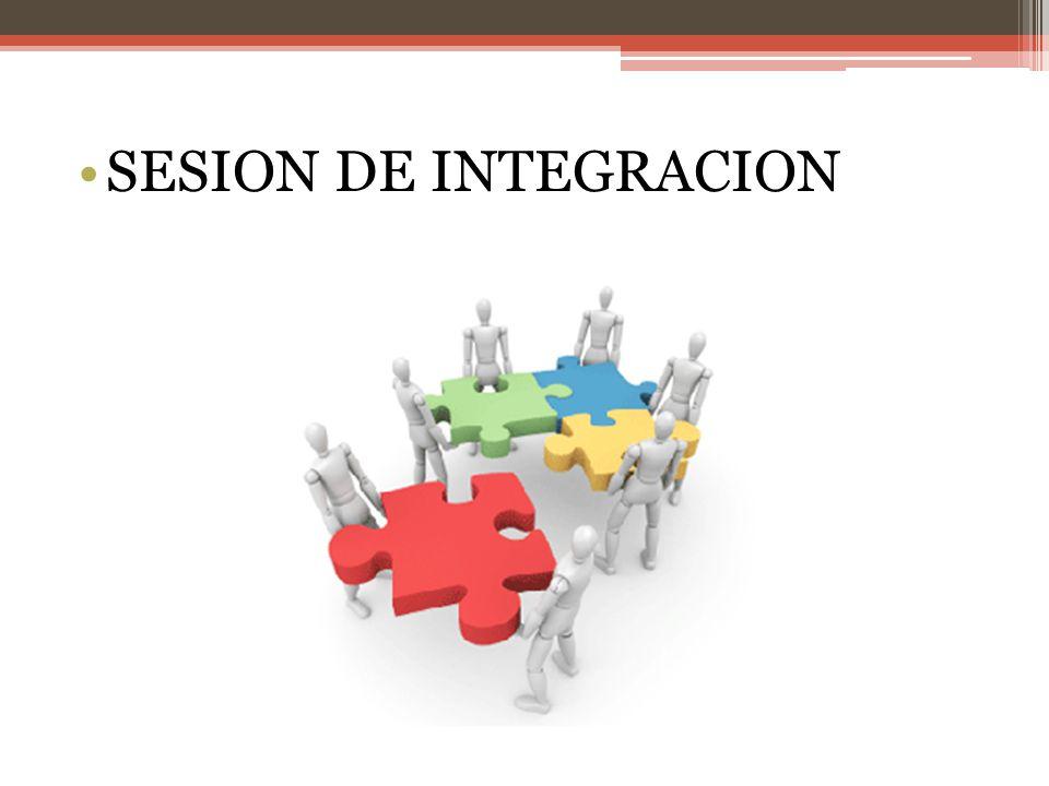SESION DE INTEGRACION